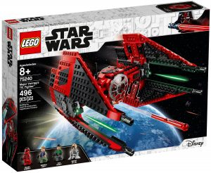 lego 75240 tie fighter de major vonreg