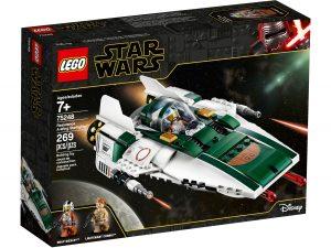 lego 75248 a wing starfighter de la resistance