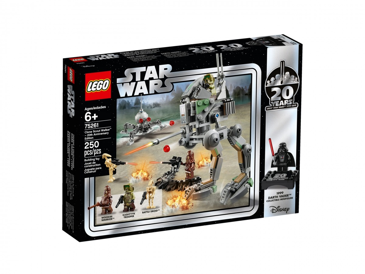 lego 75261 clone scout walker edition 20eme anniversaire scaled