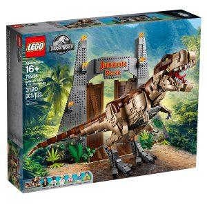 lego 75936 jurassic park le carnage du t rex