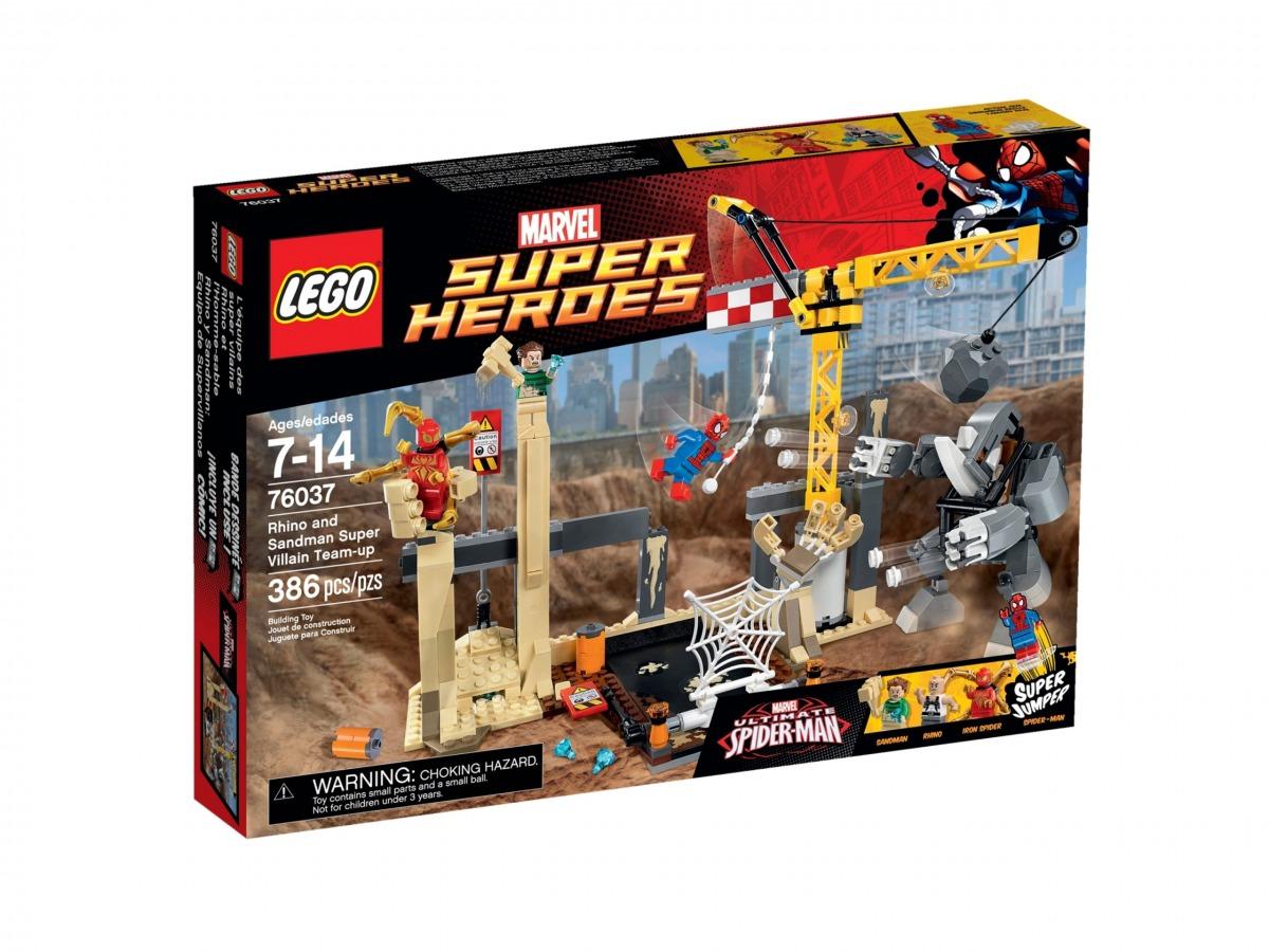 lego 76037 lequipe de super vilains de rhino et de lhomme sable scaled