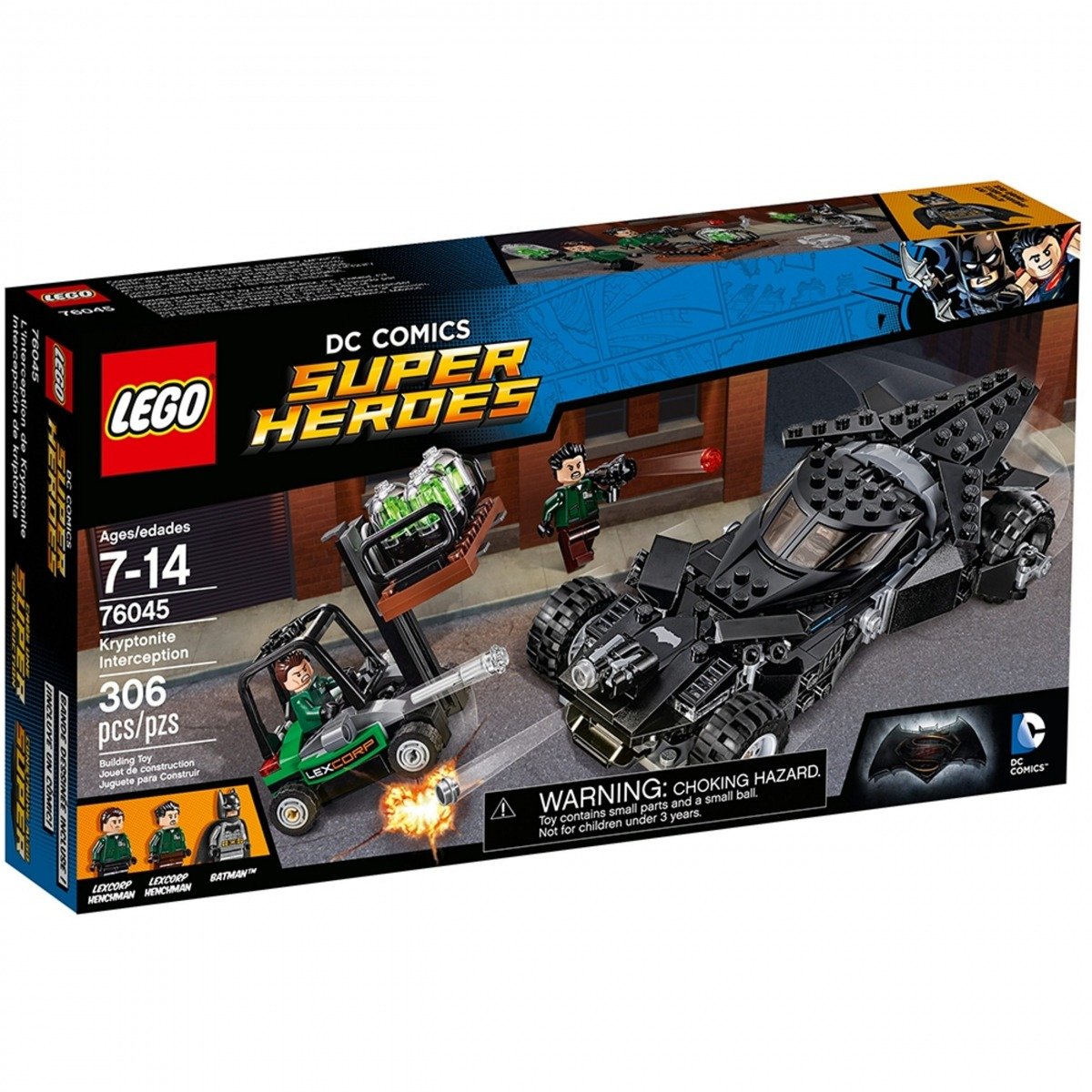 lego 76045 linterception de la kryptonite scaled