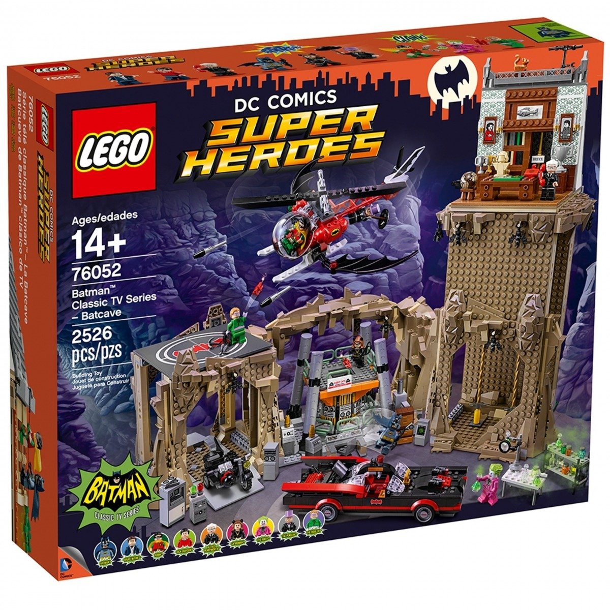 lego 76052 serie tv classique batman la batcave scaled