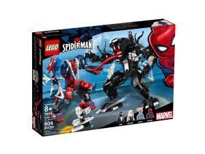 lego 76115 le robot de spider man contre venom