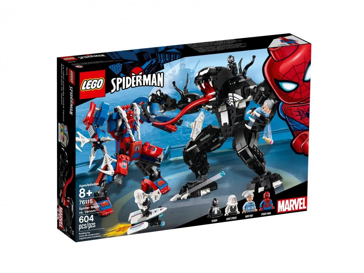 lego 76115 le robot de spider man contre venom scaled