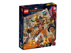 lego 76128 spider man et la bataille de lhomme de metal