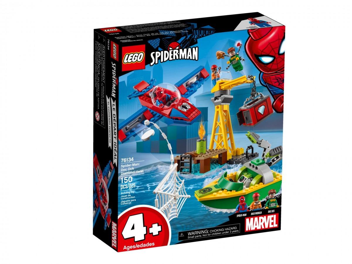 lego 76134 spider man docteur octopus et le vol du diamant scaled