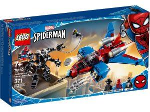 lego 76150 le spider jet contre le robot de venom