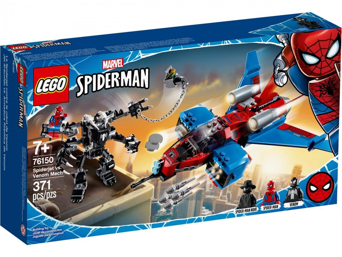 lego 76150 le spider jet contre le robot de venom scaled