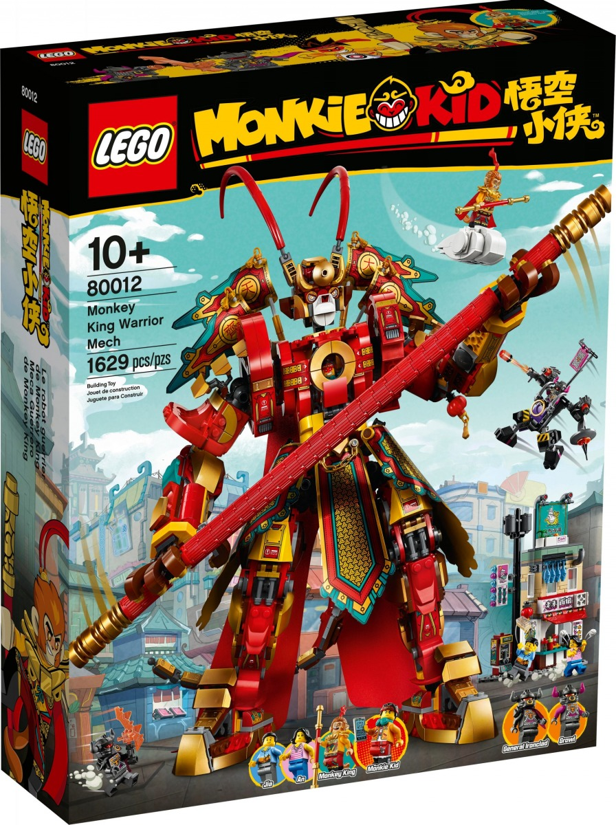 lego 80012 le robot guerrier de monkey king scaled