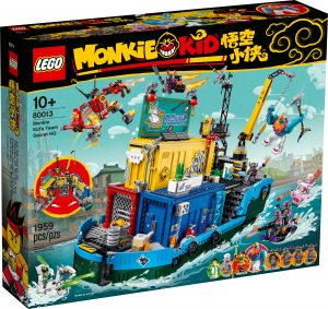 lego 80013 le qg secret de lequipe de monkie kid
