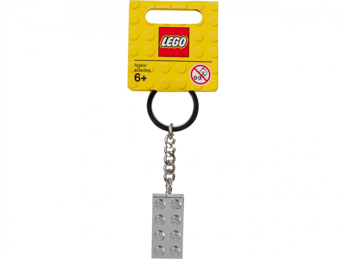 lego 851406 porte cles brique metallisee 2x4 scaled
