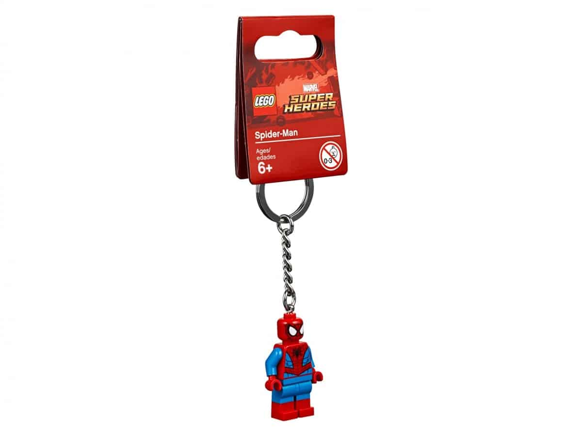 lego 853950 porte cles spider man scaled