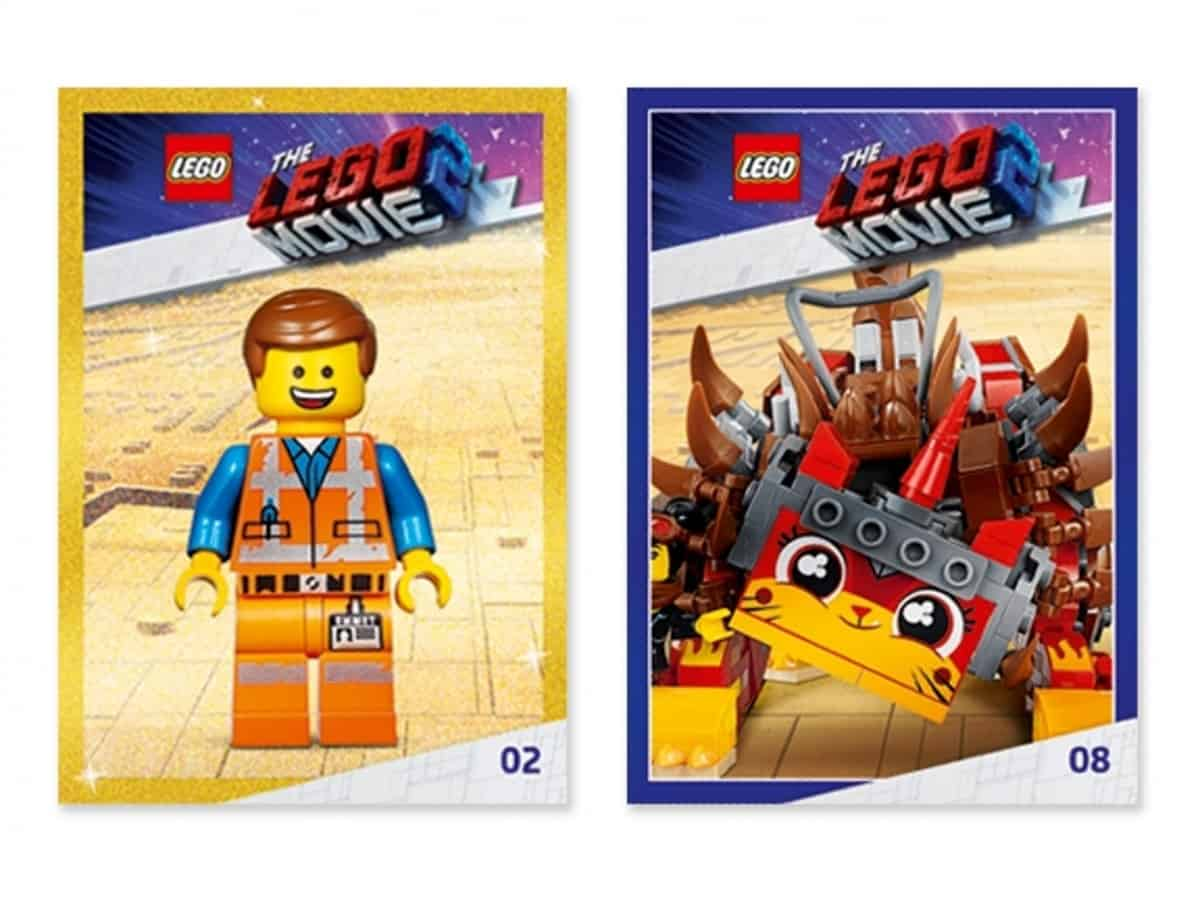 lots de cartes a collectionner lego 5005796 movie 2 scaled