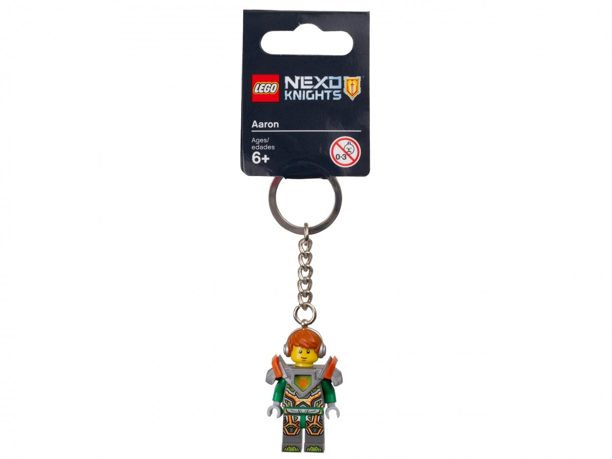 porte cles aaron lego 853685 nexo knights scaled