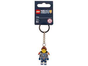 porte cles clay lego 853521 nexo knights