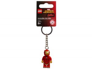 porte cles invincible iron man lego 853706 marvel super heroes