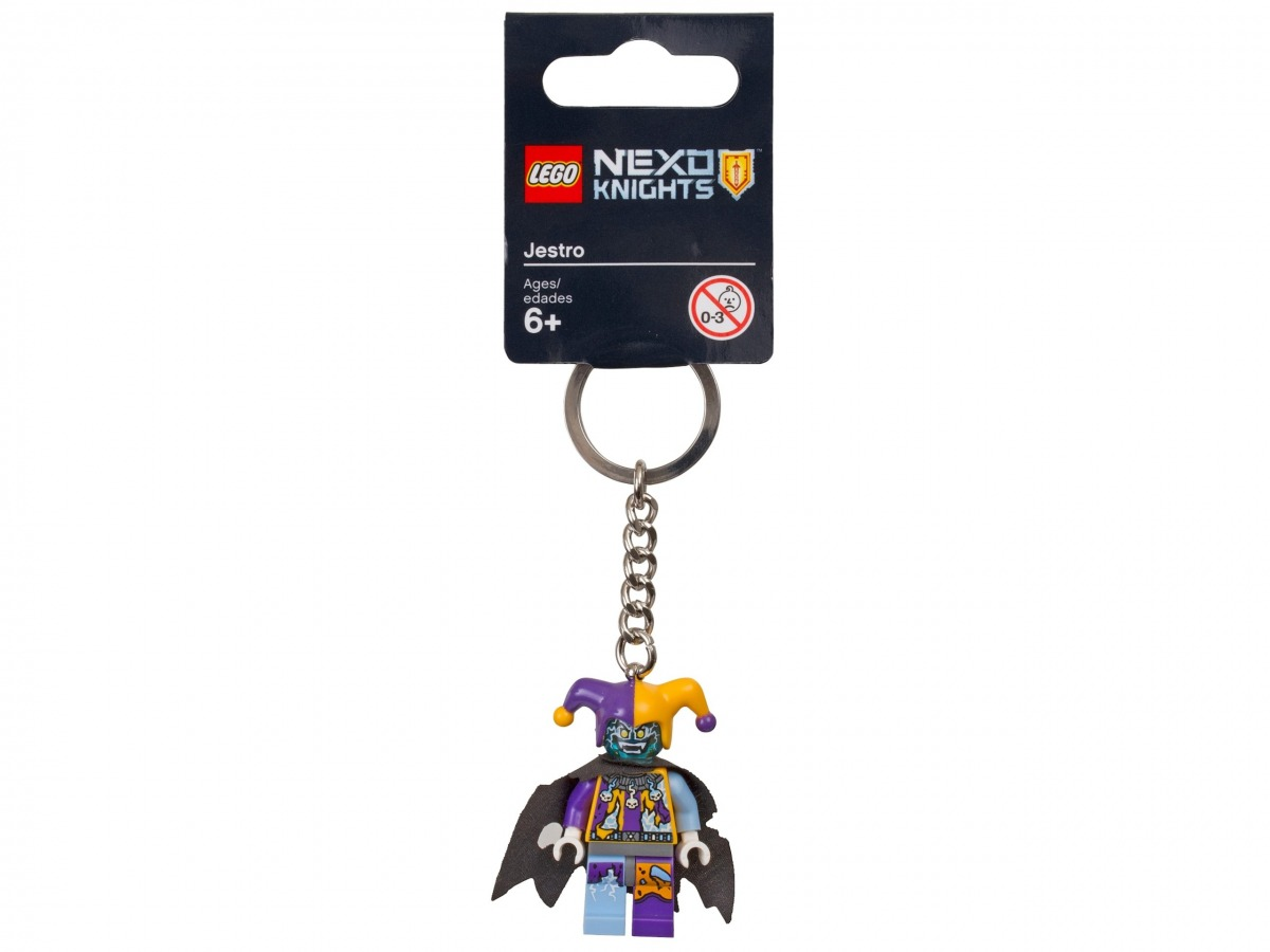 porte cles jestro lego 853683 nexo knights scaled
