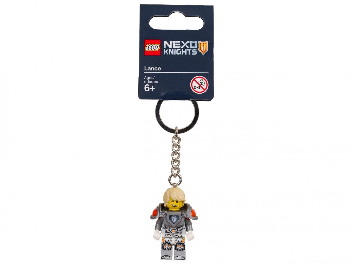 porte cles lance lego 853524 nexo knights scaled