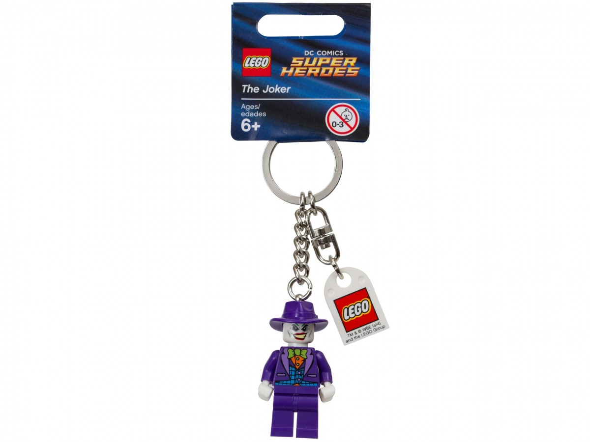 porte cles le joker lego 851003 super heroes scaled