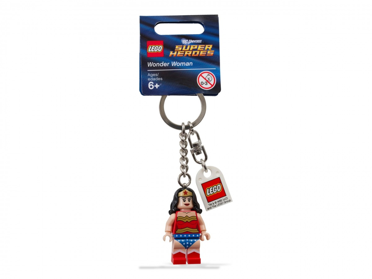 porte cles lego 853433 super heroes wonder woman scaled
