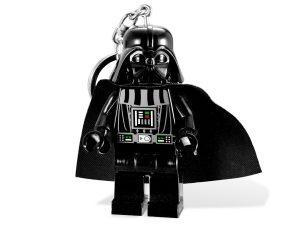 porte cles lumineux lego 5001159 star wars dark vador