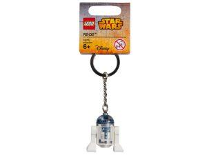 porte cles r2 d2 lego 853470 star wars