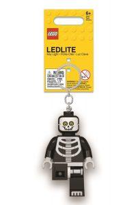 porte cles squelette lumineux lego 5005668