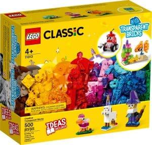 lego 11013 briques transparentes creatives