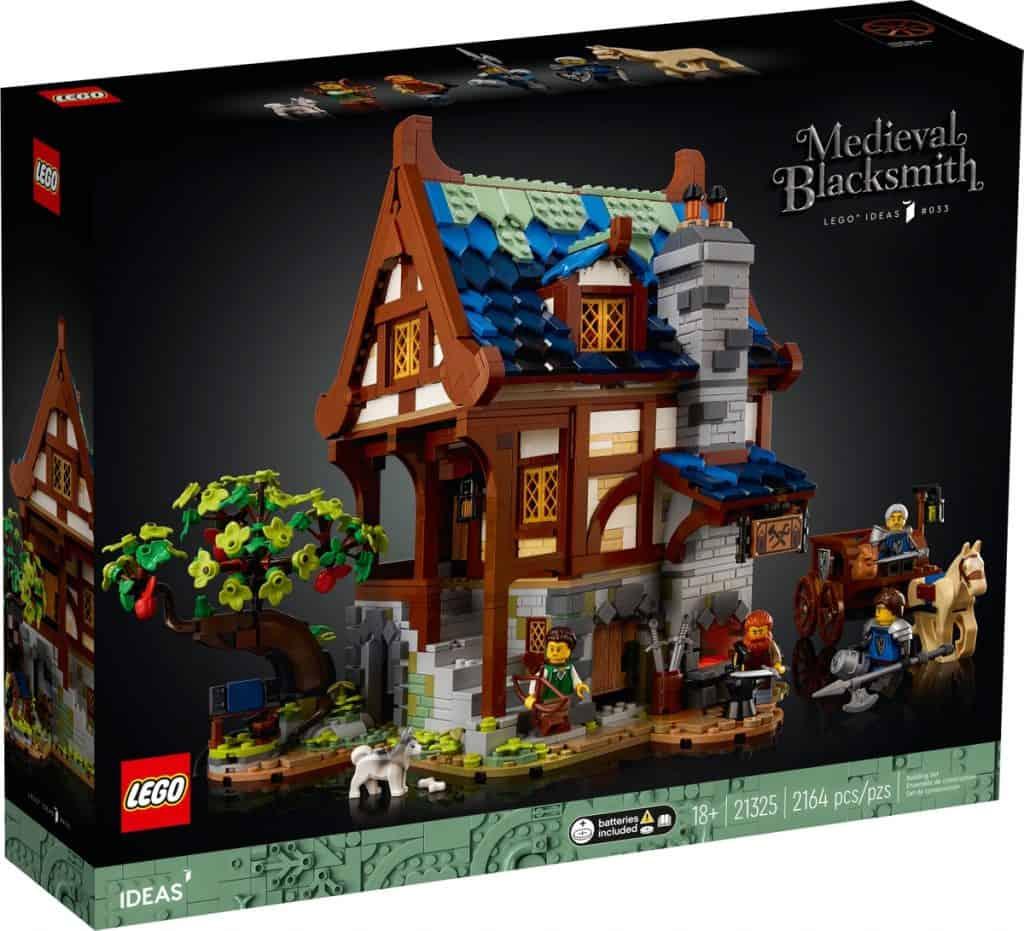 LEGO 21325 Le forgeron médiéval