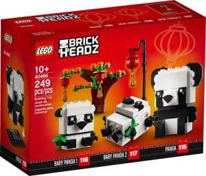 lego 40466 les pandas du nouvel an chinois