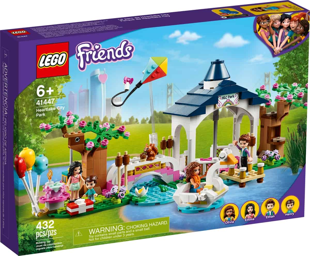 lego 41447 le parc de heartlake city