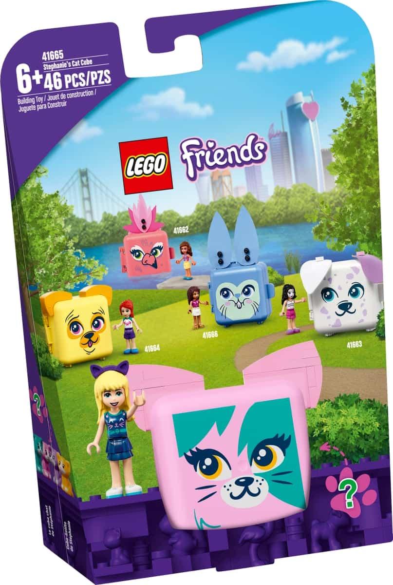 lego 41665 le cube chat de stephanie