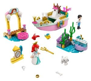 lego 43191 le bateau de mariage dariel