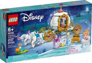 lego 43192 le carrosse royal de cendrillon