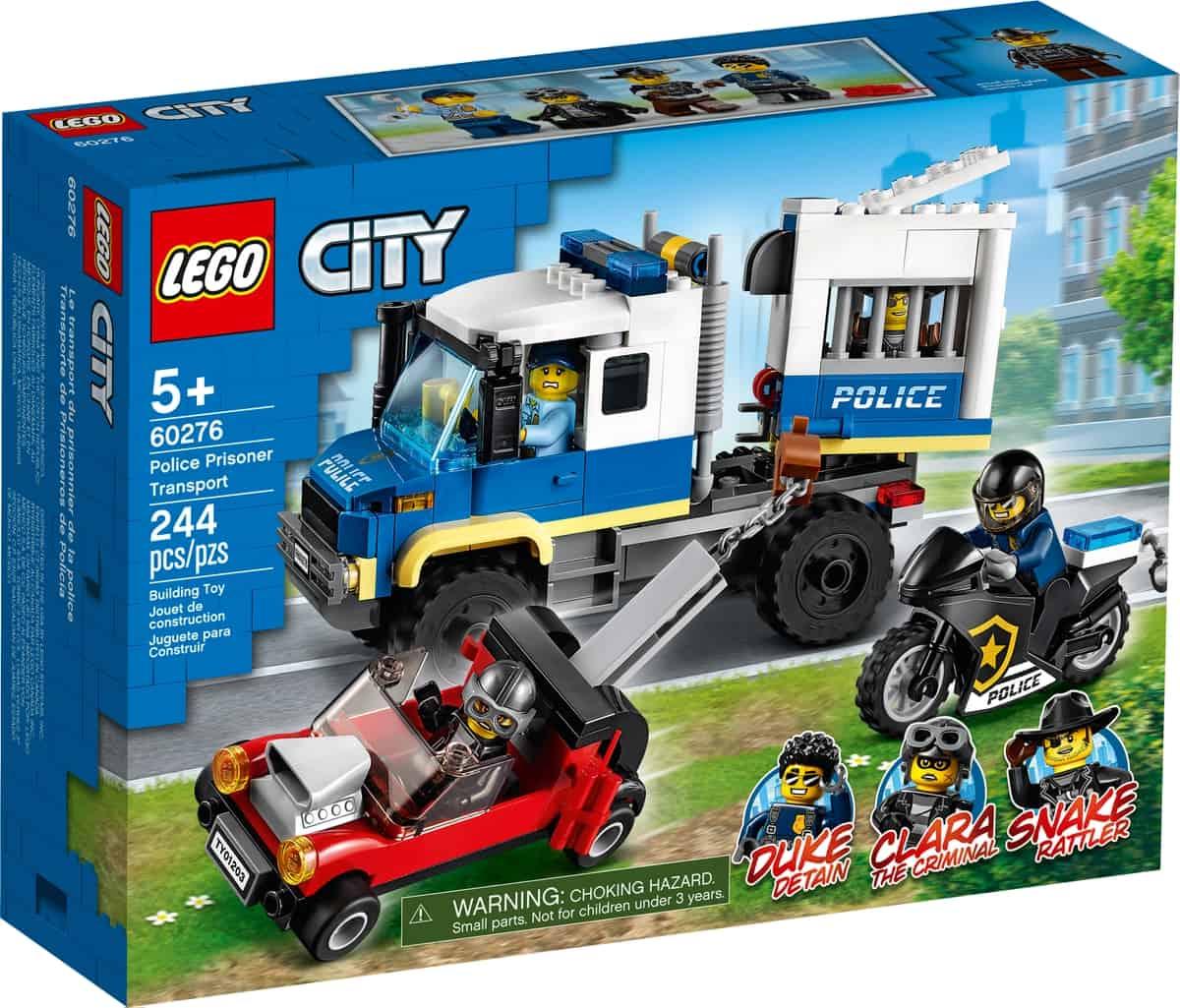 lego 60276 le transport des prisonniers