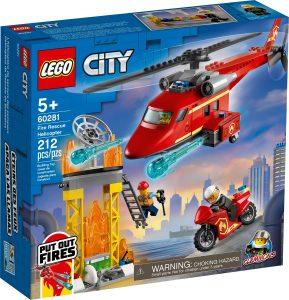 lego 60281 lhelicoptere de secours des pompiers