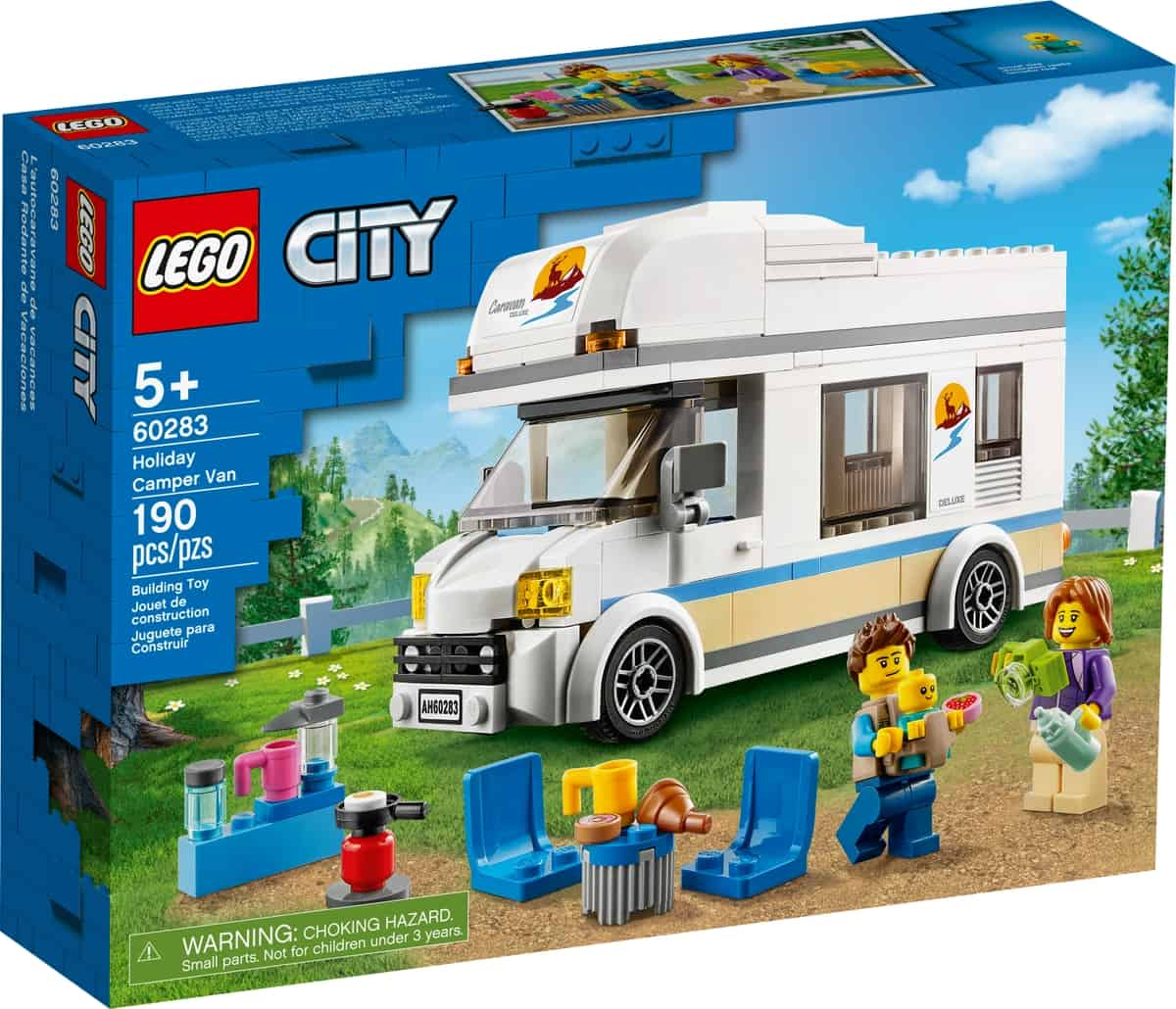 lego 60283 le camping car de vacances