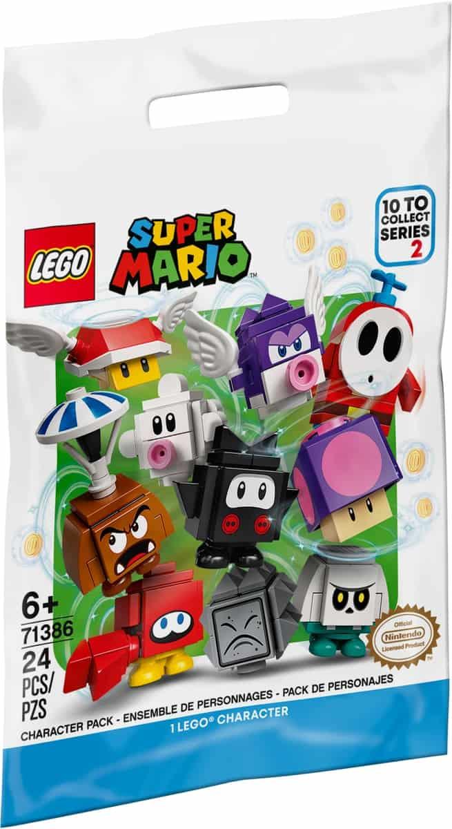 lego 71386 pack surprise de personnage serie 2