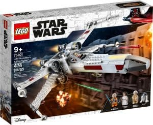 lego 75301 le x wing fighter de luke skywalker