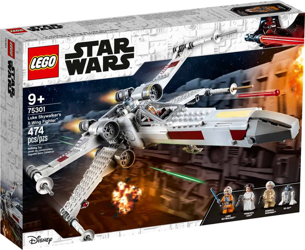 lego 75301 le x wing fighter de luke skywalker