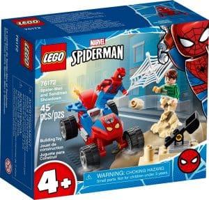 lego 76172 le combat de spider man et sandman
