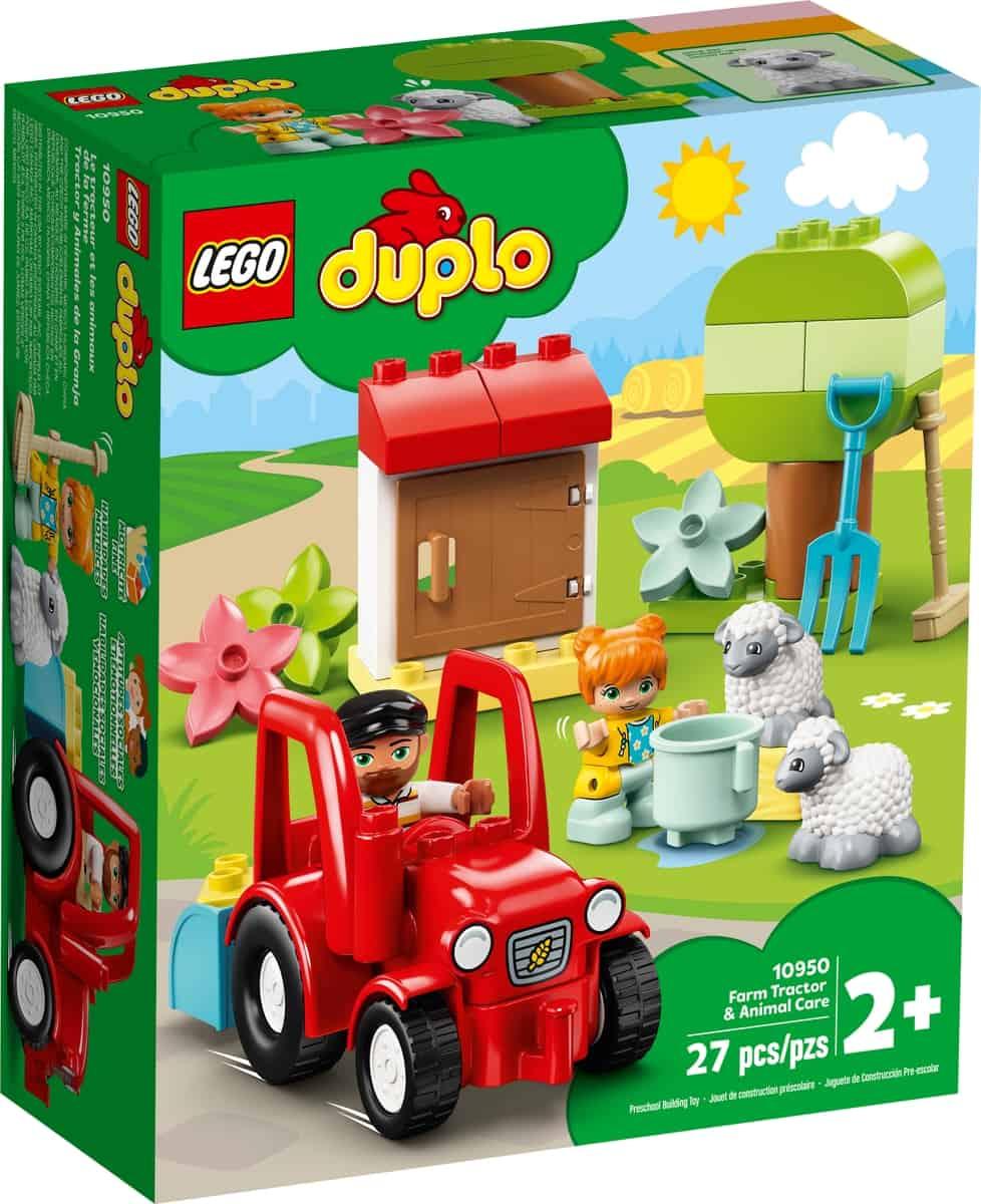lego 10950 le tracteur et les