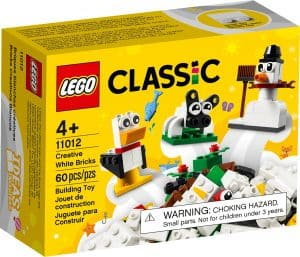 lego 11012 briques blanches creatives