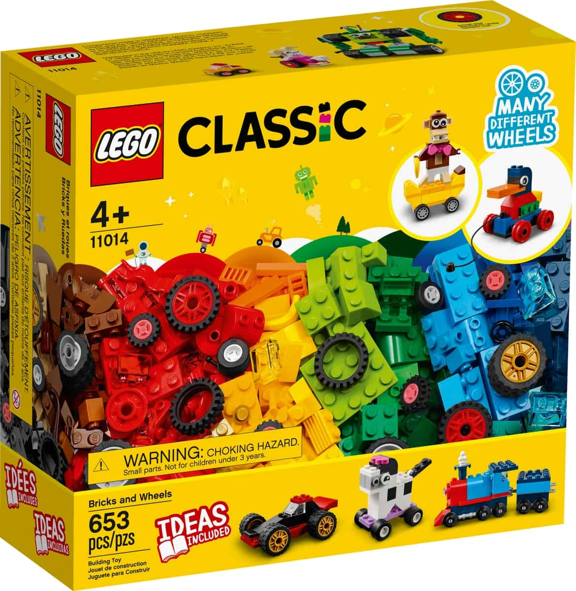 lego 11014 briques et roues