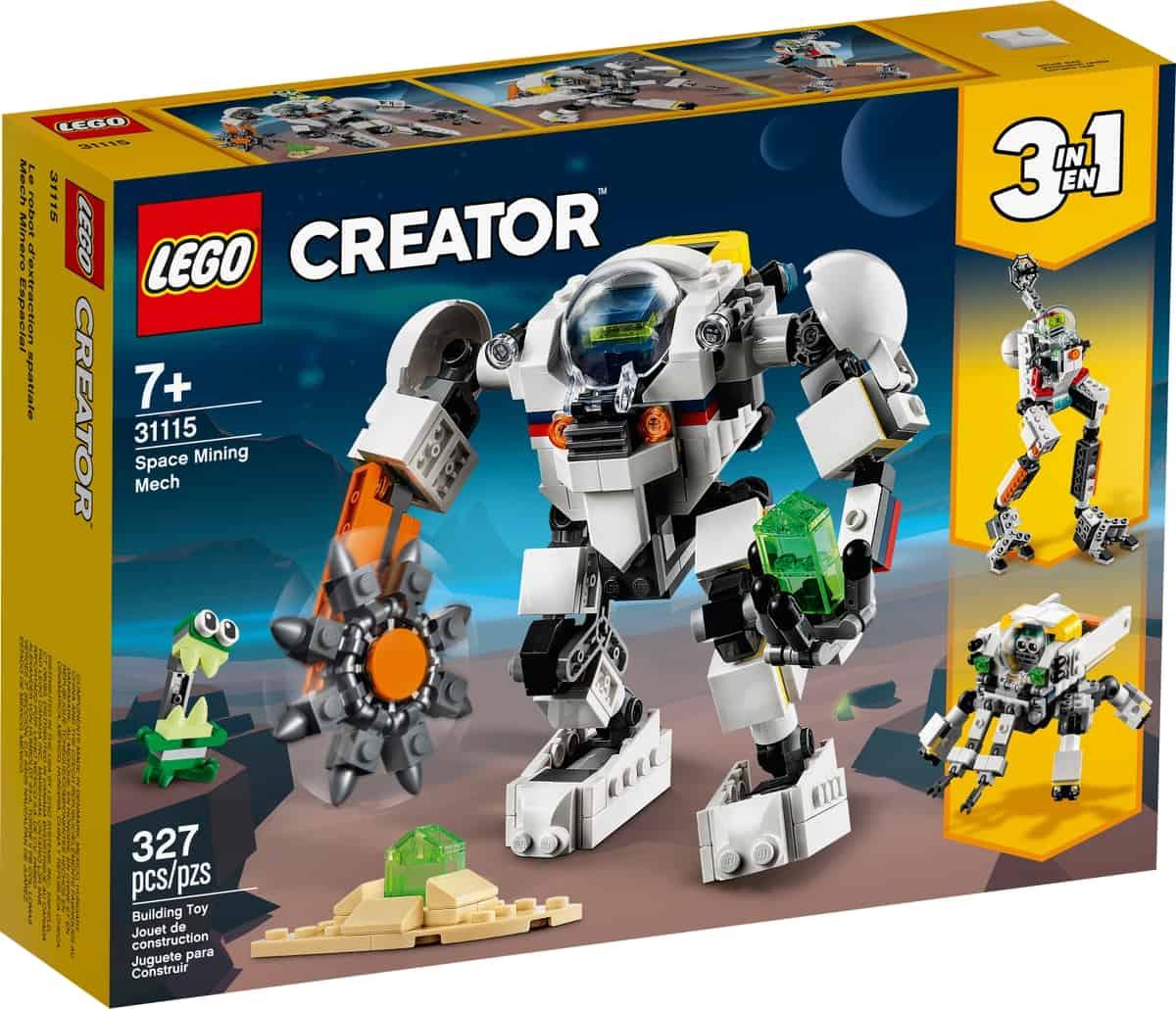 lego 31115 le robot dextraction spatiale