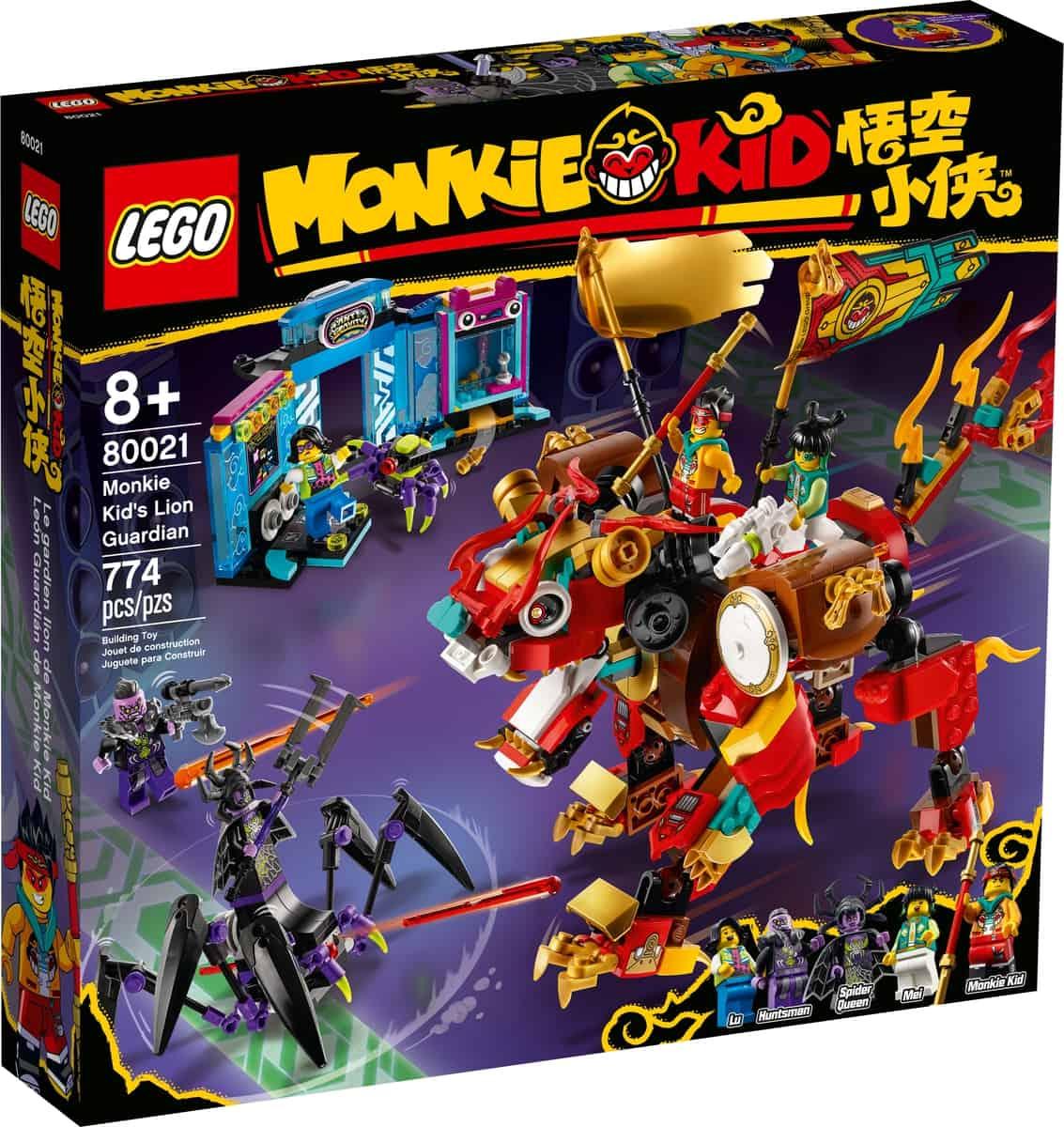 lego 80021 le lion de garde de monkie kid