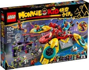 lego 80023 le drone coptere de lequipe de monkie kid