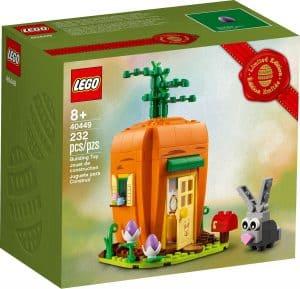lego 40449 la maison carotte du lapin de paques
