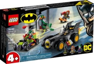 lego 76180 batman contre le joker course poursuite en batmobile